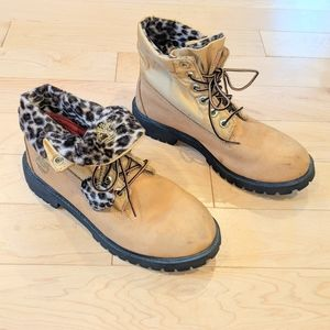 TIMBERLAND - Leopard Print Boots